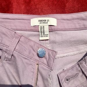 Forever 21 pants ~ skinny ~ comfy ~ good condition
